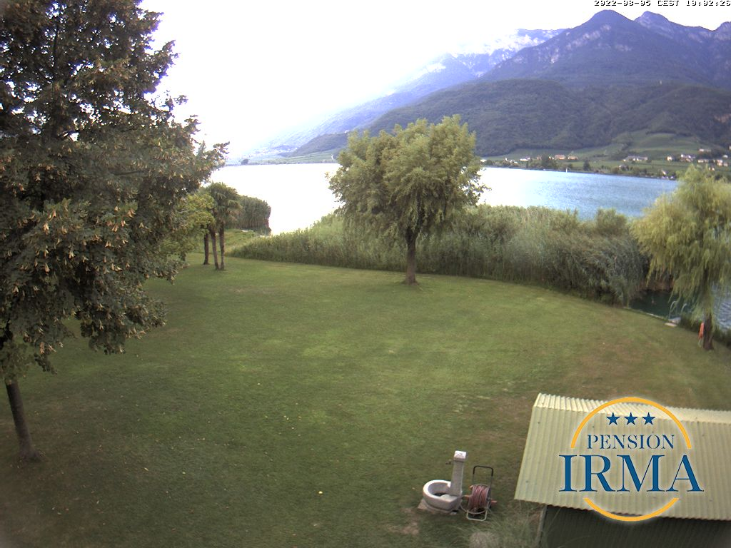 Webcam Kalterer See Pension Irma  Kaltern